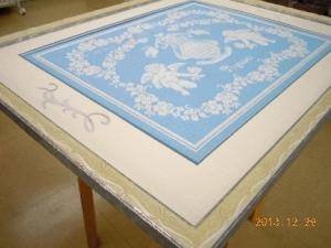 ウィーン白銀 刺繍2